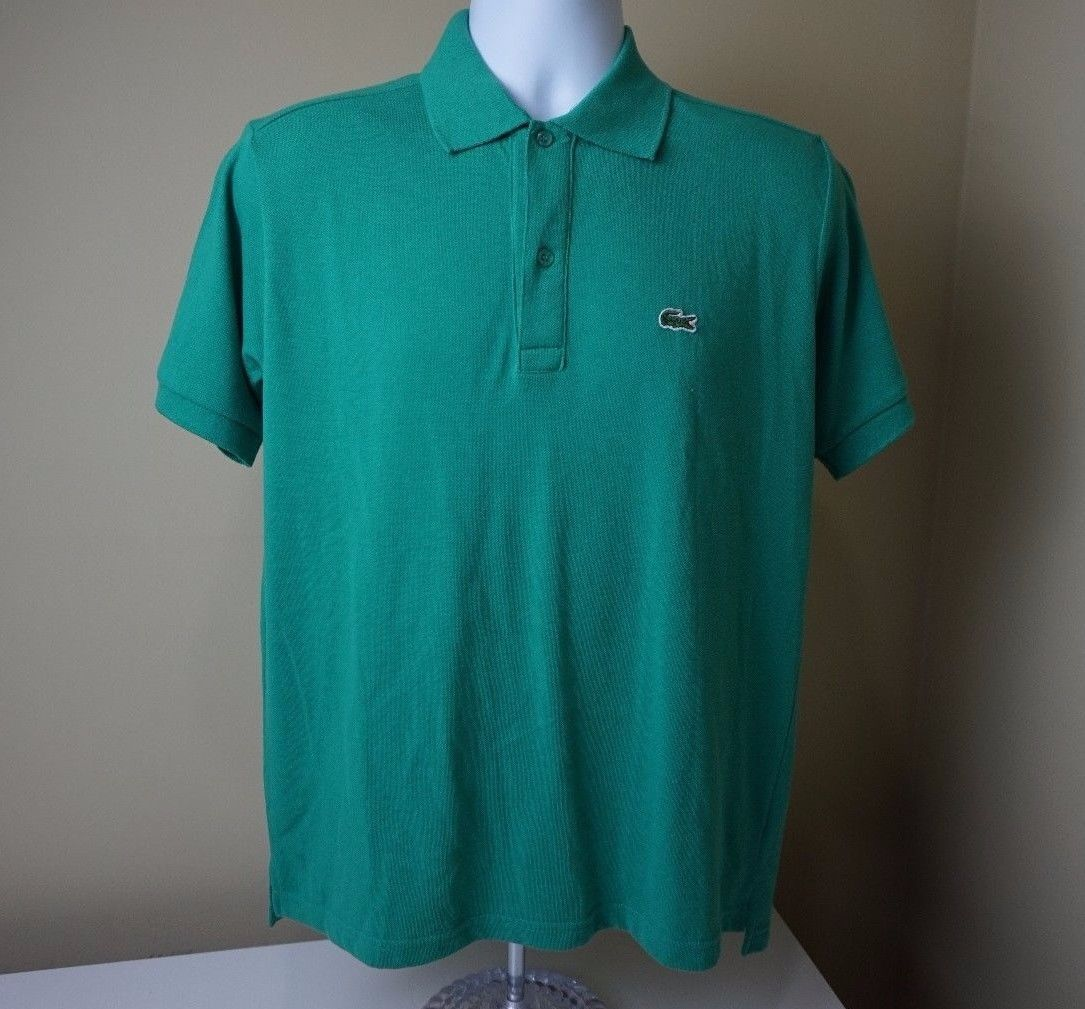 cf92d52bec5 LACOSTE Men s Green Short Sleeve Polo Shirt and 37 similar items. 57