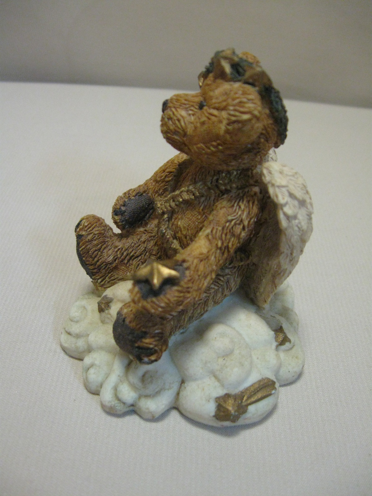 Figurine Boyds Bear & Friends Clarence Angel Bear With Star #2029-11 Retire 1993 image 2