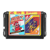 16bit 2 in 1 Super Game Cartridge for Sega Game Console - $7.99