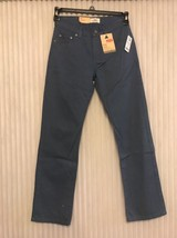 NEW Levi's 514 Straight Leg Slim Fit Sits Below Vintage Blue Waist Ships N 24h - $39.58