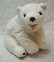 "TY Beanie Baby SOFT WHITE AURORA THE POLAR BEAR 4""STUFFED ANIMAL Toy 2000 - $14.85"