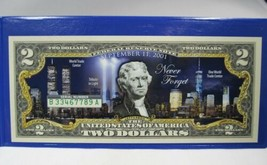 2018 $2 US Bank Note Commemorative 17th Anniversary September 11 PC-449 - $14.45
