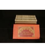 3 Vol Slip Case Lives Of The Saints Library Of Catholic Devotion 1962 Go... - $15.99