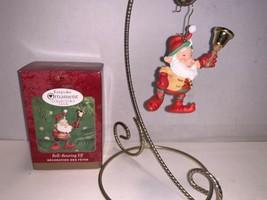 Hallmark Keepsake Ornament Collector's Club Bell-Bearing Elf 2000 - $7.50