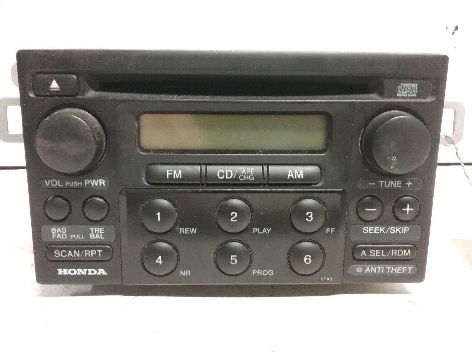 99 00 01 02 03 04 Honda Accord AM FM CD radio OEM 39101-S82-A230-M1 - $34.64