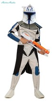 Star Wars Clone Wars Clone Trooper Child's Captain Rex Costume, Medium - $34.00