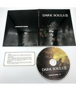 Dark Souls III 3 Original Soundtrack CD OST Japan Yuka Kitamura/Motoi Sa... - $45.99