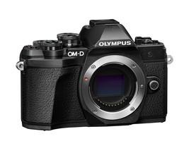 Olympus OM-D E-M10 Mark III 16.1 MP Digital Camera - Black (Body Only) - $649.99
