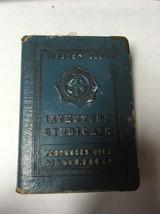 Benjamin Franklin Save & Have Metal Coin Savings Book Bank Safe - $21.78