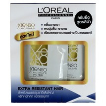 L'Oreal Xtenso Oleoshape Hair Straightener Extra Resistant Hair 125ml + ... - $23.70