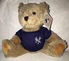 "New York Yankees Plush Teddy Bear 7"" Licensed MLB Baseball Merchandise NWT - $14.99"
