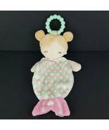 "Douglas Baby Plush Mermaid Girl Lovey Hanging Stuffed 14"" Blanket Securi... - $9.90"