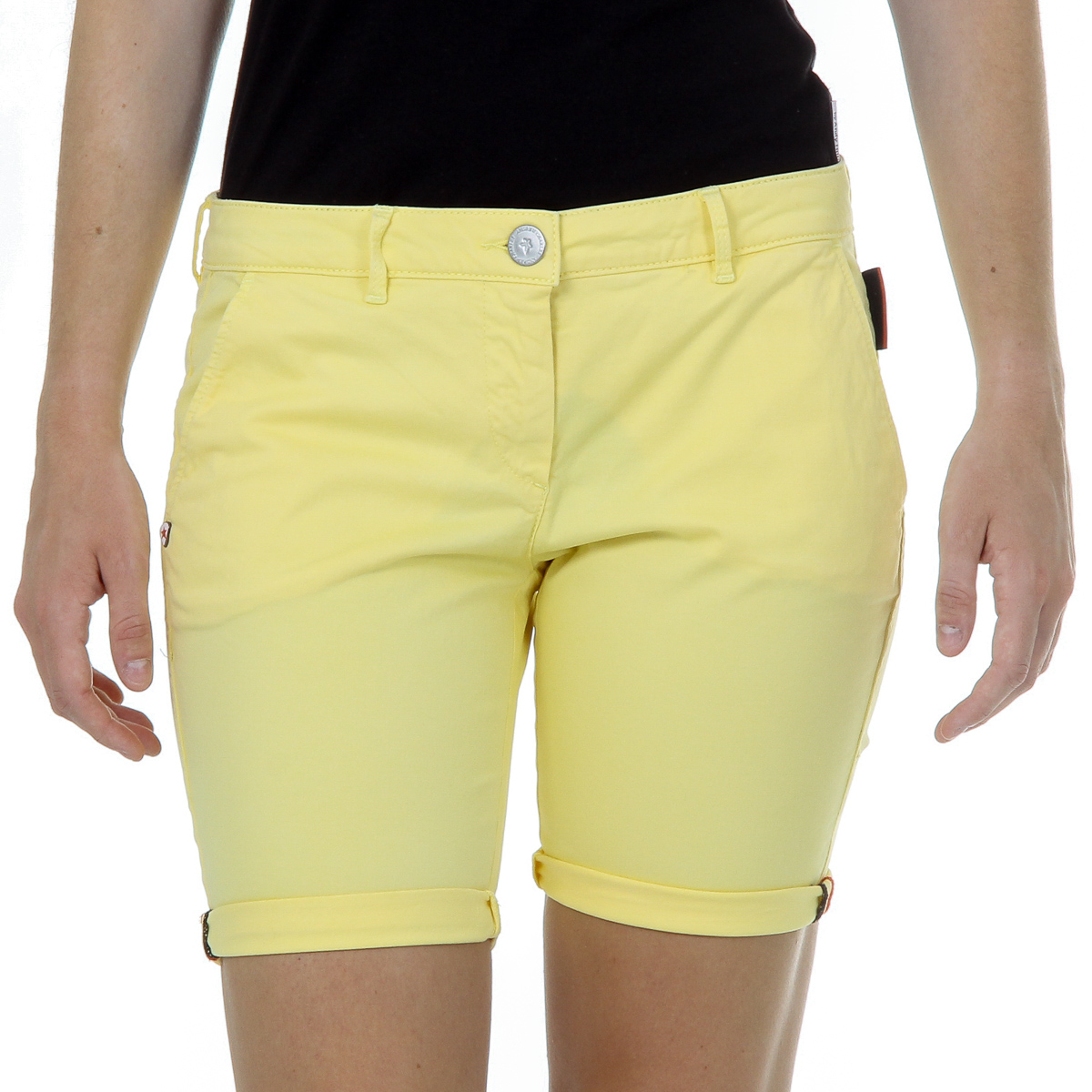 Primary image for Andrew Charles Womens Shorts Yellow SAFIA