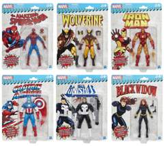 Marvel Legends Super Heroes Vintage 6-Inch Action Figures Wave 1 Complet... - $149.95