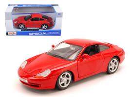 1997 Porsche Carrera 911 Red 1/24 Diecast Model Car by Maisto - $33.59