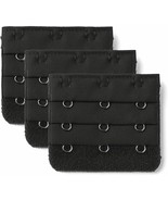 Allegra K Women 3 Rows 3 Hooks Brassiere Extension Strap Extender 3 Pcs ... - $22.36