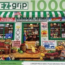 Masterpieces general store ez grip large 1000 piece puzzle complete - $12.43