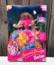 1996 Blossom Beauty Blond Barbie Doll With Magical Fairy #17032 Nfrb - $29.99