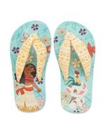 Moana Flip Flops Size 7/8 9/10 11/12 13/1 or 2/3 Toddler/Child Disney Store - £8.52 GBP