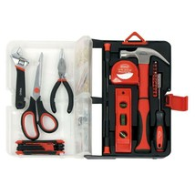 Apollo 126-Piece Home Kitchen Drawer Portable Tool Kit in Red DT2011RE - €40,69 EUR