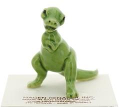 Hagen-Renaker Miniature Ceramic Dinosaur Figurine Tyrannosaurus image 2