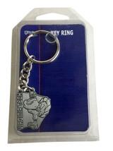 Virginia Tech Hokies 1.5 Inch Brass Key Ring Wincraft Sports - New - $10.39