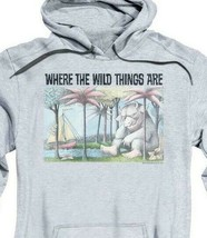 Where the Wild Things Are T-shirt Retro Childrens Book graphic hoodie WBM709 image 2