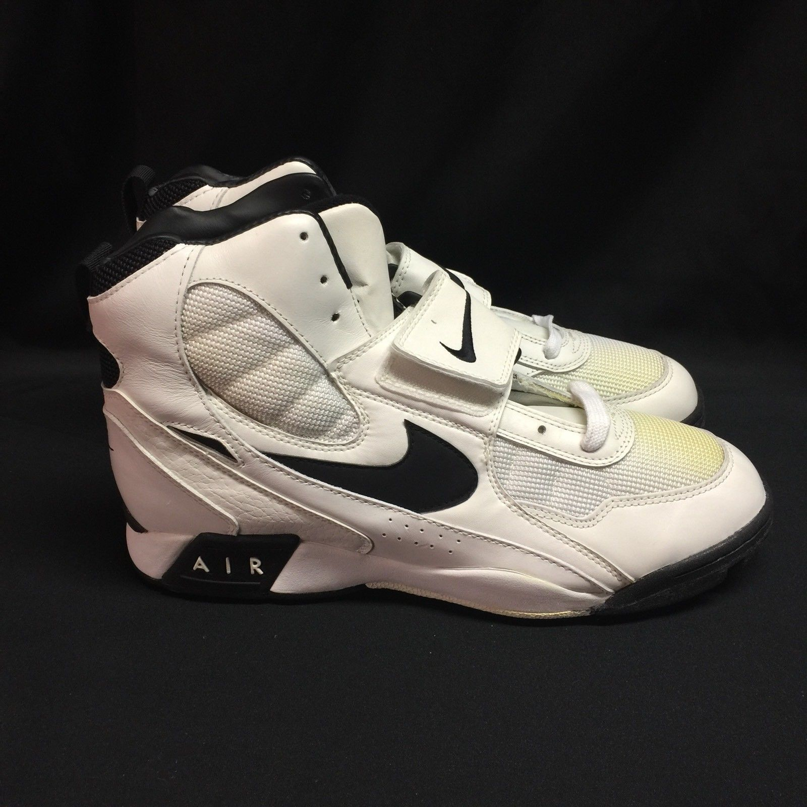 info for 01488 a7f32 New Vintage Nike Air Pro BBX Stove White and 50 similar items