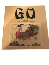 """Go """"Deluxe"""" Game Of Oriental Strategy Hansen H-2800 Wood Board Never Wood Board - $24.74"""