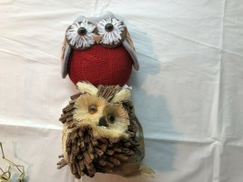 2 Owl Christmas Tree Ornaments Gently Used - $17.99