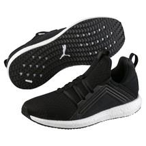 Puma Women's Mega Nrgy Heather Knit Shoes Running Sneaker Black Size 9 - $39.59