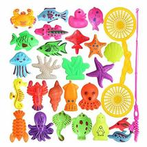 George Jimmy Children Intelligence Fishing Toys/ Rods/Magnetic Puzzle Pl... - $21.61