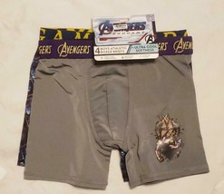 Marvel Boys' 2 PACK Big Avengers Athletic Boxer Brief, End Game Size 8 - $11.99