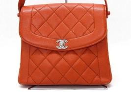 AUTHENTIC CHANEL Caviar Leather Matelasse Shoul... - $860.00