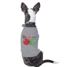 I Like Hanging With You Ornaments Pets Grey Shirt - $14.99