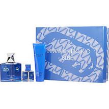 Marc Ecko Blue By Marc Ecko Edt Spray 3.4 Oz & Hair & Body Wash 3 Oz & E... - $46.11
