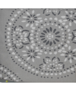 "One Tile-Medallion-Curtain-Panel Seagull Gray Color (54""x108"") - Threshold - $6.98"