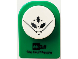 McGill Holly Leaves Corner Rounder Punch image 1