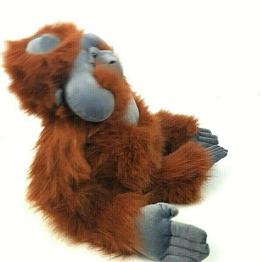 "KM International Wild Republic Plush Orangutan Monkey Ape Stuffed Animal 19"" image 4"