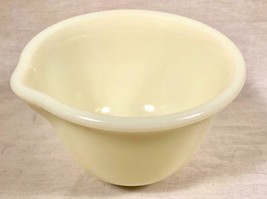 "VTG HAMILTON BEACH RACINE WIS 6 3/4"" CUSTARD GLASS ELECTRIC MIXER MIXING... - $20.84"