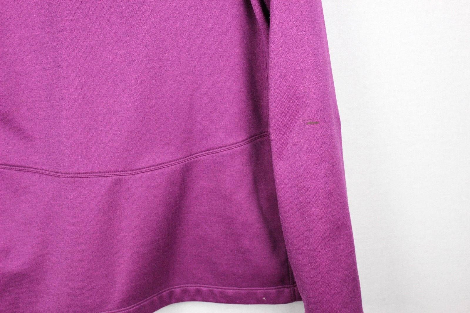 The North Face women's sweatshirt hoodie full zipper burgundy size L/G