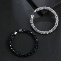 Swarovski CZ Stones luxury influx Bracelet Women Crystal high-end luxury - $14.85