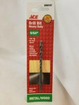 Ace Metal/Wood Black Oxide Drill Bit 9/64 2000107 - $4.70