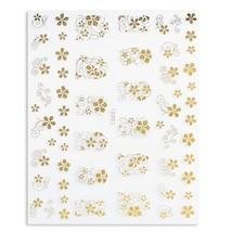 10 pcs Fashion 3D DIY Gold Silver Jewelry(GOLDEN STYLE 02) - $264,80 MXN