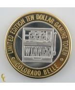 Slot Machine Colorado Belle Casino Gaming Token .999 Argent Édition Limitée - $59.40
