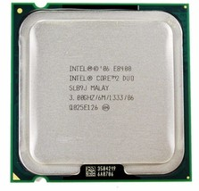Intel Core 2 Duo CPU E8400 3.00GHz Dual Core Processor 1333 MHz SLB9J 6MB OEM - $15.59