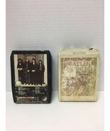 The Beatles Hey Jude 8 Track plus Greatest hits Lot Of 2 Apple Records - $15.83