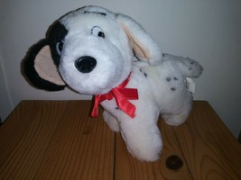 """VINTAGE GOFFA 8"""" PLUSH DALMATION PUPPY DOG - $10.68"""