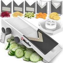 Rebanadora de quesos verduras mandolina ajustable de múltiples cuchillas  - $39.50