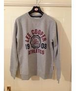 Lee Cooper Crew Logo Sweater / Mens  - Sizes : M / L / XL - Colour : Gre... - $15.06